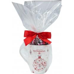 mug de noël chocolat noir monbana