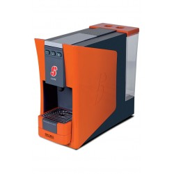 machine à café essse s12 orange et pack degustation 36 capsules