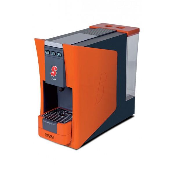 machine à café essse s12 orange et pack degustation 36 capsules