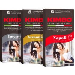 Pack découverte 40 capsules Kimbo Compatibles Nespresso®