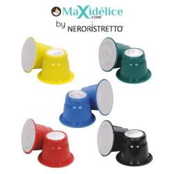 pack 50 capsules compatibles Nespresso® Maxidelice
