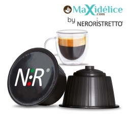 8 capsules Ristretto Dolce Gusto Compatibles café Maxidelice