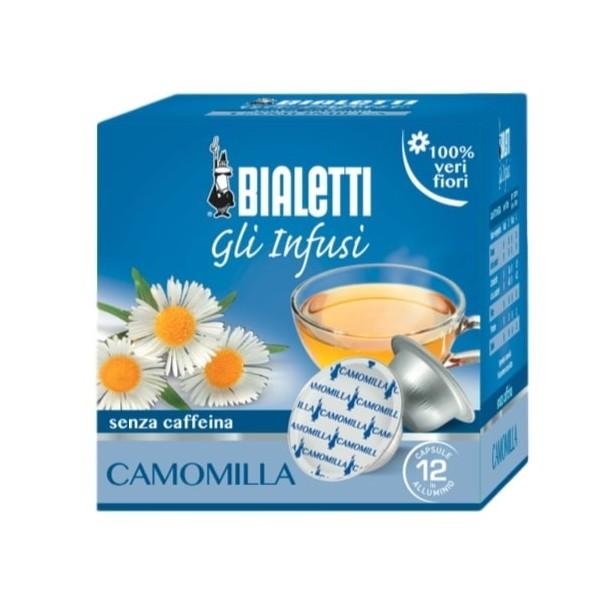 12 capsules bialetti mokespresso camomille