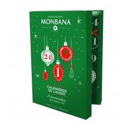 Calendrier de l' Avent 2019 Chocolats Monbana