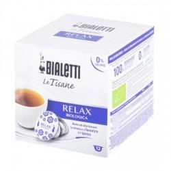 12 capsules bialetti mokespresso tisane relax bio
