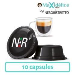 10 capsules Lavazza a modo mio compatibles ristretto