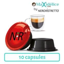 10 capsules fortissimo compatibles Lavazza a modo mio