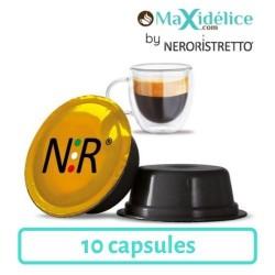 10 capsules puro arabica compatibles Lavazza a modo mio