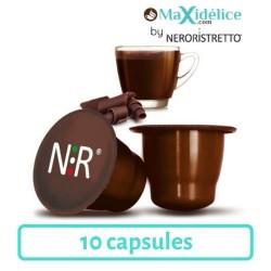10 capsules Chocolat compatibles Nespresso®