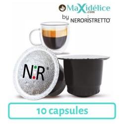 10 capsules ristretto compatibles Nespresso® italfoods