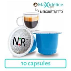 10 capsules decaféiné compatibles Nespresso® Maxidelice