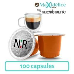 100 capsules compatibles Nespresso® Popayan Colombie Maxidelice
