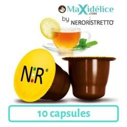 10 capsules Thé Citron compatibles Nespresso®