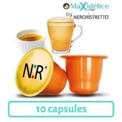 10 capsules Crème Brulée compatibles Nespresso®