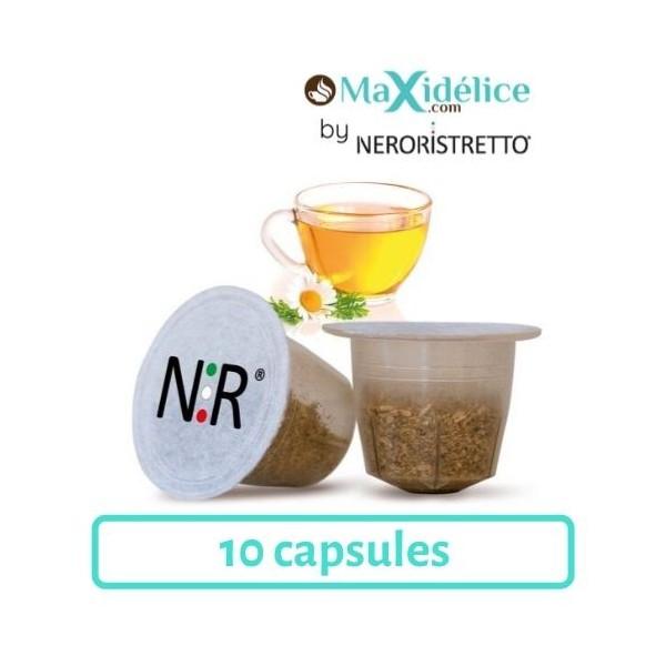 capsules nespresso compatibles camomille