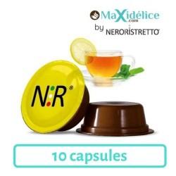 10 capsules Thé Citron a modo mio Compatible