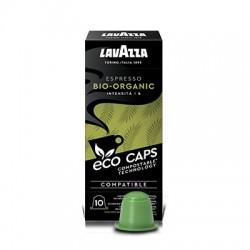 10 Eco Capsules espresso bio organic Lavazza Compatibles Nespresso®
