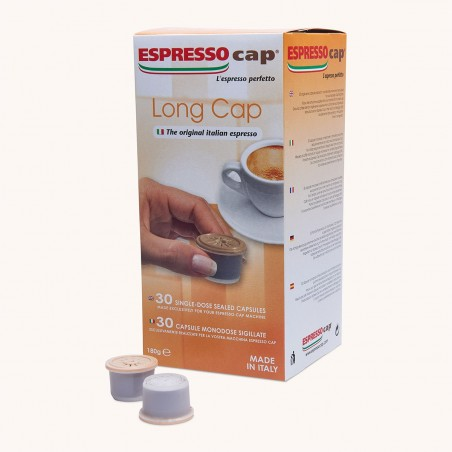 30 Capsules Café Long Cap Espresso Cap