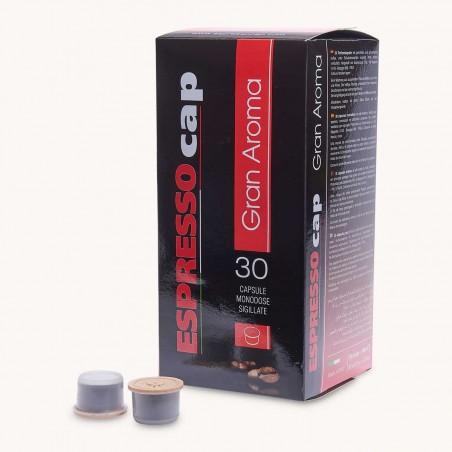 30 Capsules Café Gran Aroma Espresso Cap
