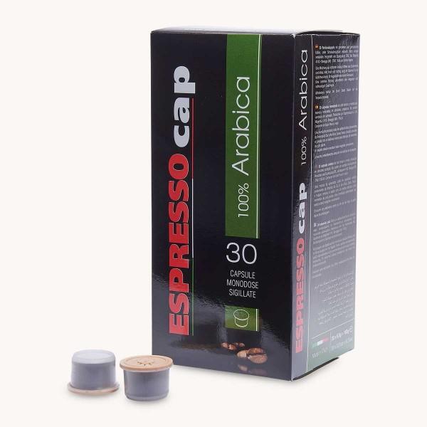 30 Capsules Café 100% Arabica Espresso Cap
