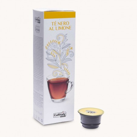 10 Capsules Thé Citron Caffitaly