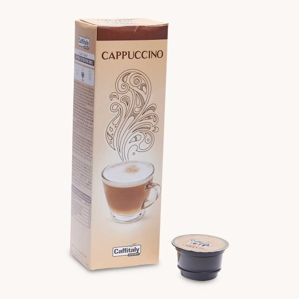 10 Capsules Cappuccino Caffitaly
