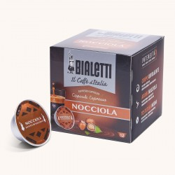 12 Capsules Café Noisette Mokespresso Bialetti