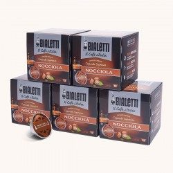 60 Capsules Café Noisette Mokespresso Bialetti