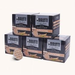 60 Capsules Café Ginseng Mokespresso Bialetti