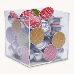 Porte Capsules Cube Bialetti - Capacité de 45 Capsules