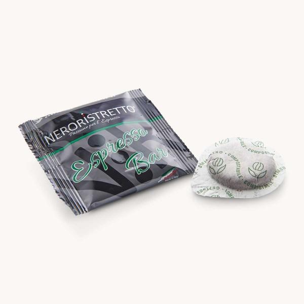 100 dosettes ESE espresso bar maxidelice