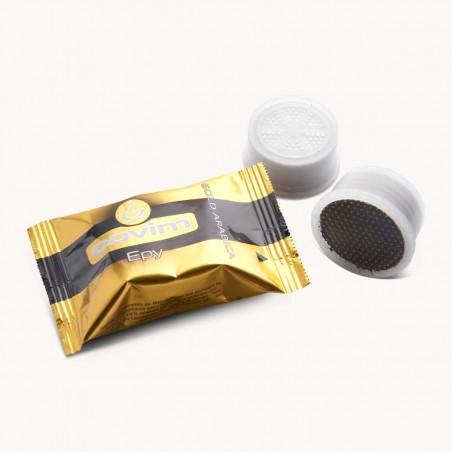 Capsules Café Gold Arabica Covim pour Lavazza Point x 50