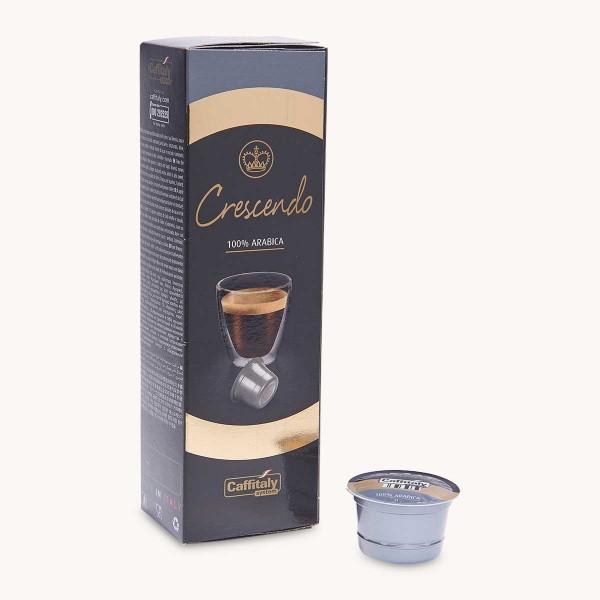 Capsules Café Crescendo 100% Arabica Caffitaly x 10