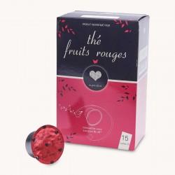 Capsules Thé Fruits Rouges Inspiration pour Lavazza Blue x 15