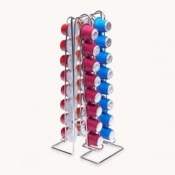 Porte Capsules Metal Line - 32  pour Nespresso®