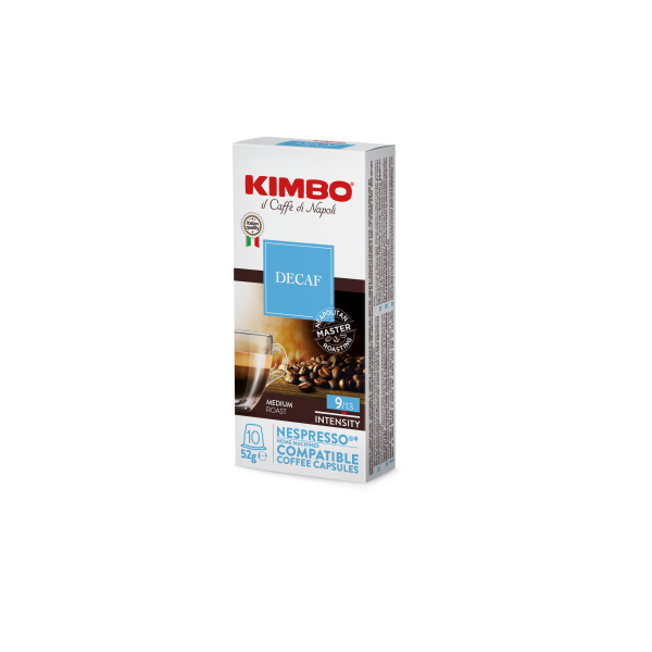 Capsules Décaféiné Kimbo pour Nespresso® x 10