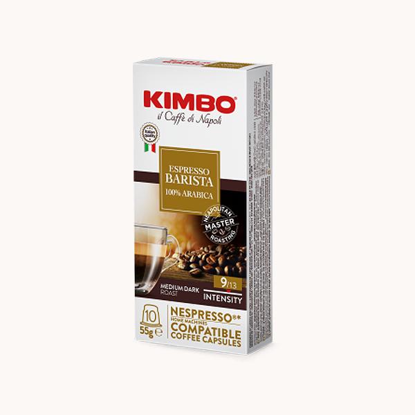Capsules Café Barista Kimbo pour Nespresso® x 10