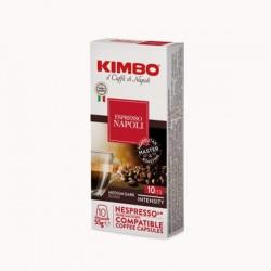 Capsules Café Napoli Kimbo pour Nespresso® x 10
