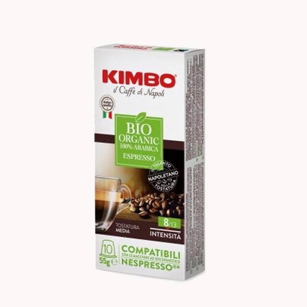 Capsules Bio Organic Kimbo pour Nespresso® x 10
