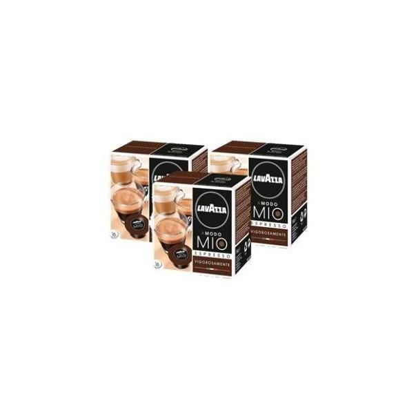 80 x capsules caf lavazza a modo mio vigorosamente. Black Bedroom Furniture Sets. Home Design Ideas
