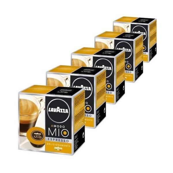 capsules caf lavazza a modo mio deliziosamente pack 80. Black Bedroom Furniture Sets. Home Design Ideas