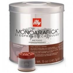 21 x Capsule café illy Iperespresso Monoarabica Guatemala