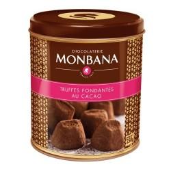 Boites de Truffes Fondantes au Cacao Monbana 250gr