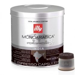 21 x Capsule café illy Iperespresso Monoarabica India