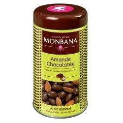 Amandes Chocolatées Monbana - Boite en Métal 180gr