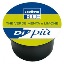 50 capsules Thé Vert Menthe-Citron Lavazza blue