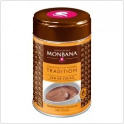 "Chocolat en poudre traditionnel ""Salon de thé"" Monbana 250gr"