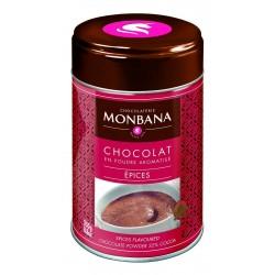 Chocolat en poudre arôme Epices Monbana 250gr