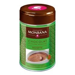 Chocolat en poudre arôme Noisette Monbana 250gr