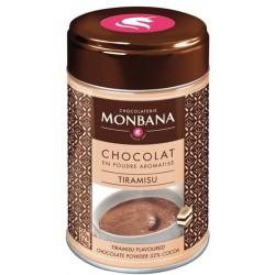 Chocolat en poudre arôme Tiramisu Monbana 250gr